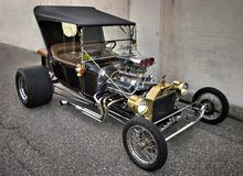 vintage Hot rod Royalty Free Stock Photography