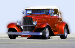 Vintage Hot Rod. A vintage car Royalty Free Stock Images