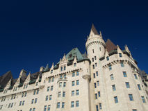 Vintage hotel. Chateau Laurier Hotel in Ottawa Stock Images