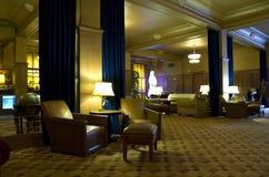 Vintage hotel lobby Royalty Free Stock Image