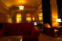 Vintage hotel lobby Stock Image