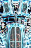 Vintage hotrod abstract royalty free stock photography