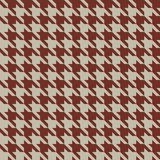 Vintage houndstooth pattern Stock Photo