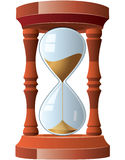 Vintage hourglass Royalty Free Stock Photography