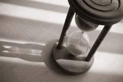 Vintage hourglass Royalty Free Stock Photo