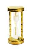 Vintage hourglass Stock Image