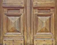 Vintage house door detail Royalty Free Stock Photo