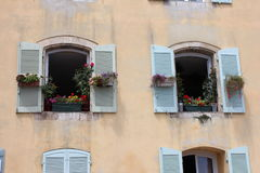 Vintage House in Hyères, Southern France Stock Photography