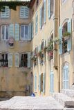 Vintage House in Hyères, Southern France Stock Photos