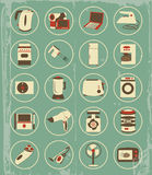 Vintage household appliances Stock Photography