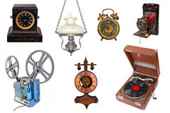Vintage household items Royalty Free Stock Photo