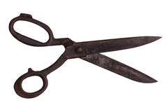 Vintage household scissors Royalty Free Stock Image