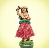 Vintage Hula doll royalty free stock photo
