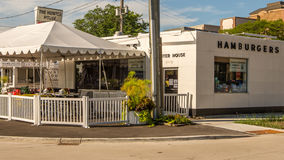 Vintage Hunter House Hamburgers, Woodward Dream Cruise route, MI Stock Images
