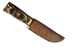 Vintage hunting knife Stock Photos