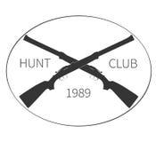 Vintage hunting logo. vector. Illustration Stock Images