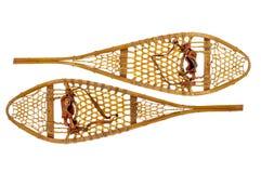Vintage Huron snowshoes Stock Images