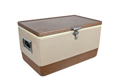 Vintage Ice Chest Royalty Free Stock Images