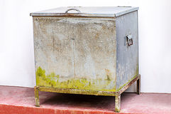 Vintage ice chest Royalty Free Stock Photo