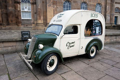 Vintage ice cream van Stock Photo