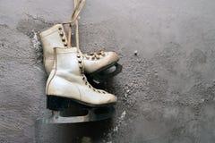 Vintage ice skates Stock Photography