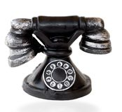Vintage Iconic Telephone Stock Photo