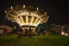Vintage illuminated Merry-go-round