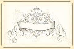Vintage illustration Royalty Free Stock Photos
