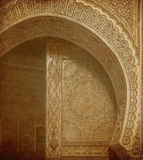 Vintage image of Ancient doors, Morocco Royalty Free Stock Image