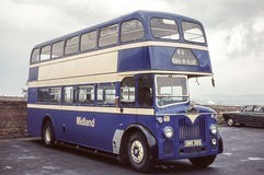 Vintage image of bus Stock Images