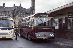 Vintage image of buses Stock Photography