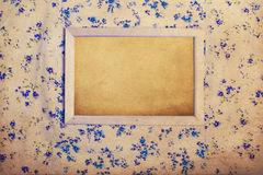Vintage image with grunge paper Royalty Free Stock Image