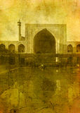 Vintage image of imam mosque Royalty Free Stock Image