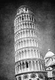 Vintage image of Leaning tower of Pisa, Italy Stock Photo