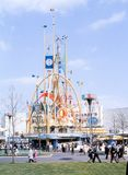 Vintage image Tower of Four Winds, 1964 World`s Fair. A vintage image from 1964 World`s Fair in New York City. Image taken from color slide Royalty Free Stock Images