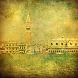 Vintage image of Venice, Italy Royalty Free Stock Photography