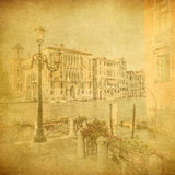 Vintage image of Venice, Italy Stock Photo