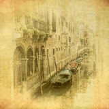 Vintage image of Venice, Italy Stock Images