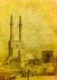 Vintage image of Yazd Stock Photography