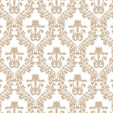 Vintage Imperial Baroque ornament pattern Royalty Free Stock Photo