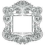 Vintage Imperial Baroque Rococo frame Stock Images