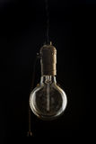 Vintage incandescent Edisone bulb Royalty Free Stock Photography