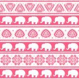 Vintage Indian elephant Stock Photography