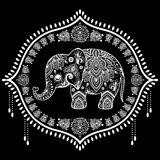 Vintage Indian elephant Royalty Free Stock Images
