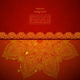 Vintage Indian Ornament Royalty Free Stock Photography