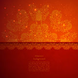 Vintage Indian Ornament Stock Images