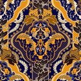Vintage indian seamless pattern Stock Image