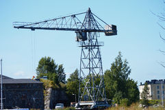 Free Vintage Industrial Crane Stock Images - 59233034