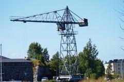 Vintage Industrial Crane Stock Images
