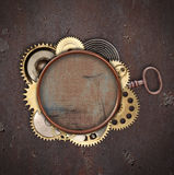 Vintage industrial mechanical background Royalty Free Stock Photo